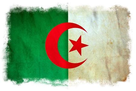 Algeria grunge flag Stock Photo - 12364301