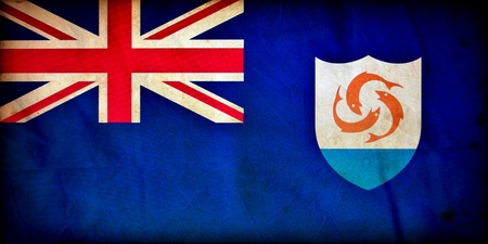 Anguilla grunge flag Stock Photo - 12364154