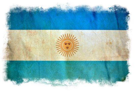 Argentina grunge flag photo