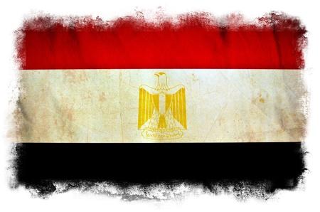 Egypt grunge flag photo