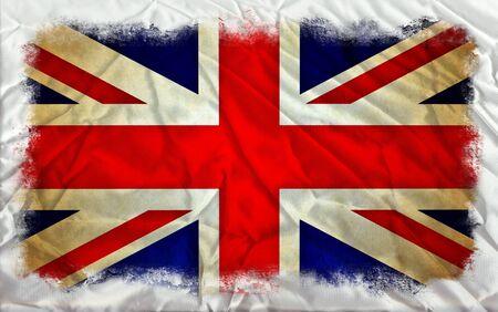 great britain: Grande-Bretagne grunge drapeau Banque d'images