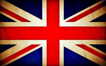 Great Britain grunge flag photo