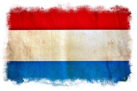 dutch flag: Holland grunge flag