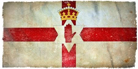 Northern Ireland grunge flag Stock Photo - 12364820