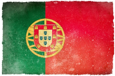 Portugal grunge flag photo