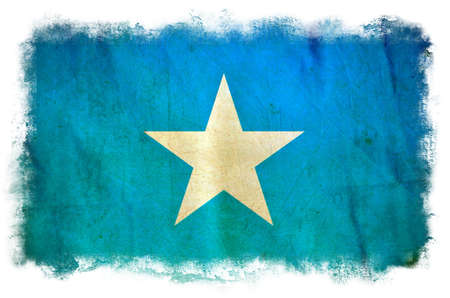 Somalia grunge flag photo