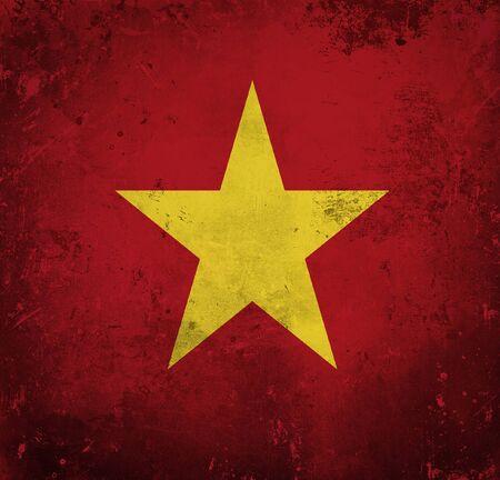 Grunge flag of Vietnam Stock Photo - 12414725