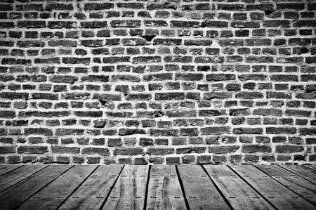 Empty grunge room photo