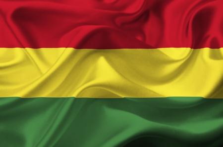 Bandera de Bolivia Foto de archivo - 12416184