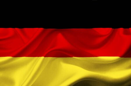 deutchland: Germany waving flag
