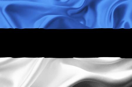 Estonia waving flag