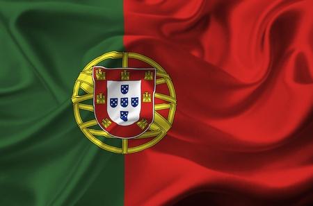 Bandera de Portugal Foto de archivo - 12416337