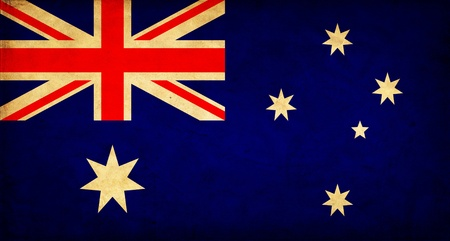 Australia grunge flag Stock Photo - 12646540
