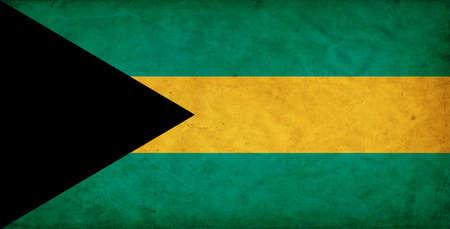 bahamas celebration: Bahamas grunge flag