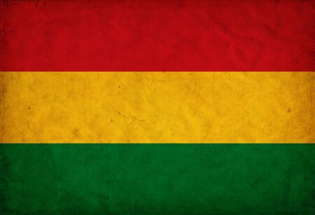 Bolivia grunge bandera photo