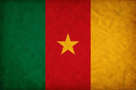 cameroon: Cameroon grunge flag Stock Photo