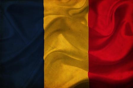 chad: Chad waving flag