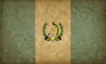Guatemala grunge flag Stock Photo - 12646604