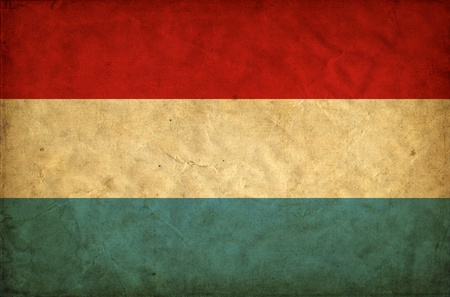 Luxembourg grunge flag photo
