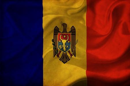 Moldova waving flag Stock Photo - 12647053