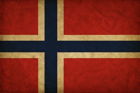 norwegian: Norway grunge flag
