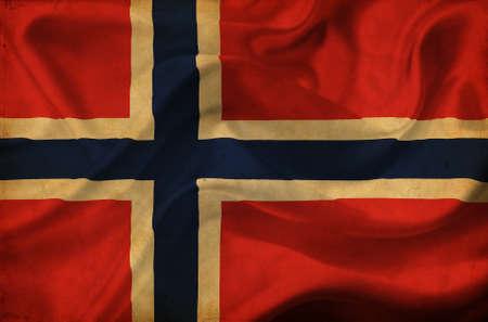 Norway waving flag Stock Photo - 12647028