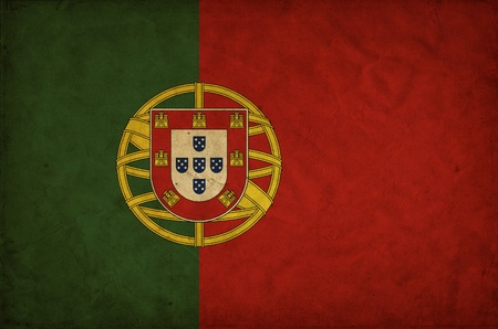 Portugal grunge flag Stock Photo - 12646960