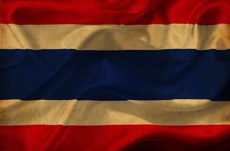 Thailand waving flag Stock Photo - 12647058