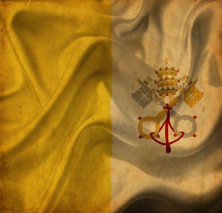 ciudad del vaticano: Ciudad del Vaticano Bandera de