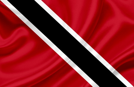 national flag trinidad and tobago: Trinidad and Tobago waving flag