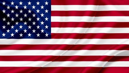bandera estados unidos: Estados Unidos Bandera de los Estados Unidos Foto de archivo
