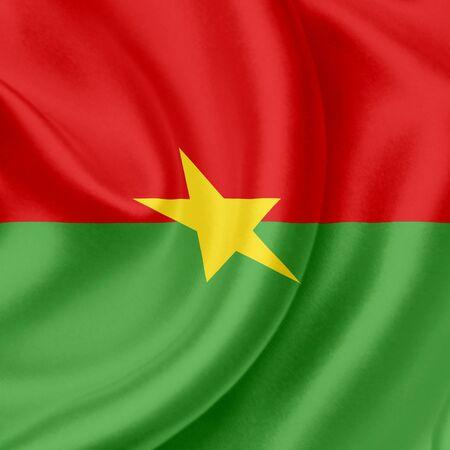 burkina faso: Burkina Faso waving flag