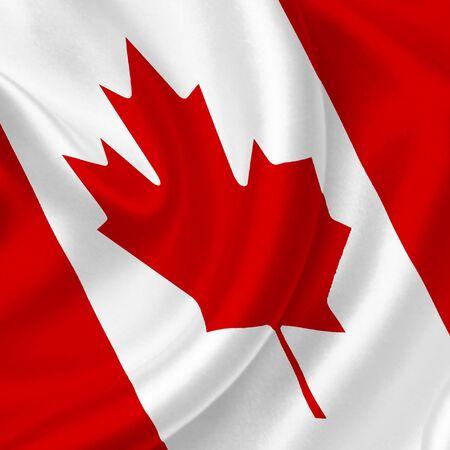 Canada waving flag photo