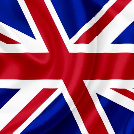 Great Britain waving flag photo