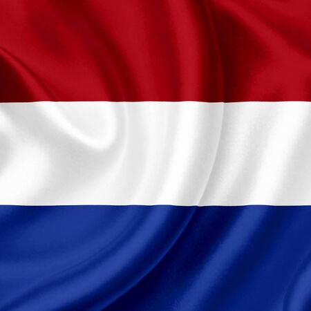 Holland  waving flag photo