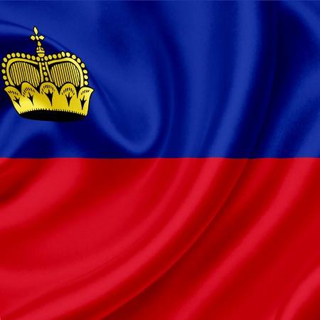 liechtenstein: Liechtenstein waving flag