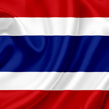Thailand waving flag Stock Photo - 13390354