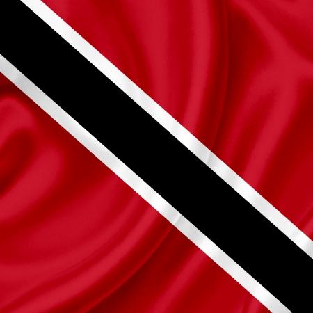 Trinidad and Tobago waving flag photo