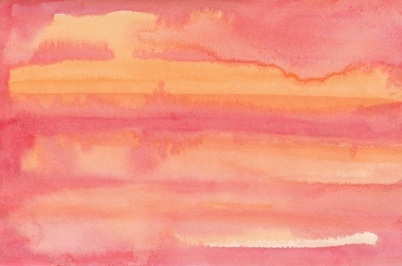 Abstract pink watercolor background photo