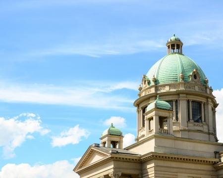 Parlament: Serbian parlament building - Belgrade Serbia