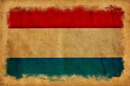 Holland grunge flag Stock Photo - 14296442