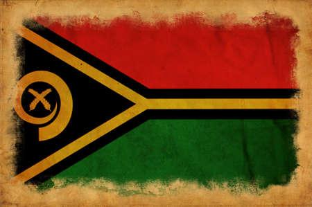 vanuatu: Vanuatu grunge flag