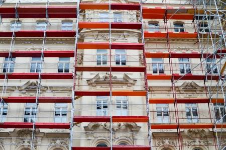 andamios: Rehabilitacion de edificios