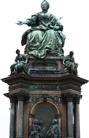Maria Theresa Monument in Vienna Austria photo