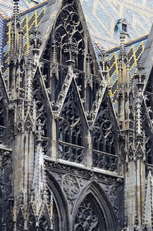 catholical: St. Stephan cathedral in Vienna Austria