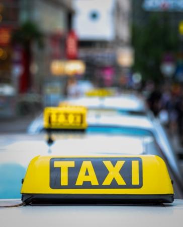 Taxi concept photo