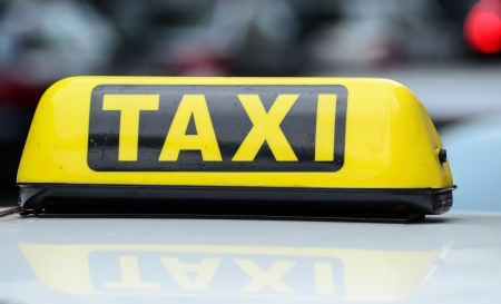 Taxi sign Stock Photo - 14636898