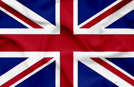 Great Britain waving flag Stock Photo - 14761732