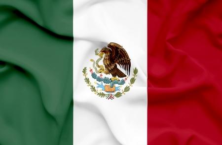 Mexico waving flag Stock Photo - 14761729