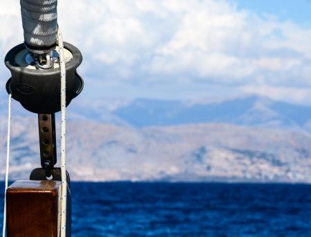 winch: Sailboat Winch detail